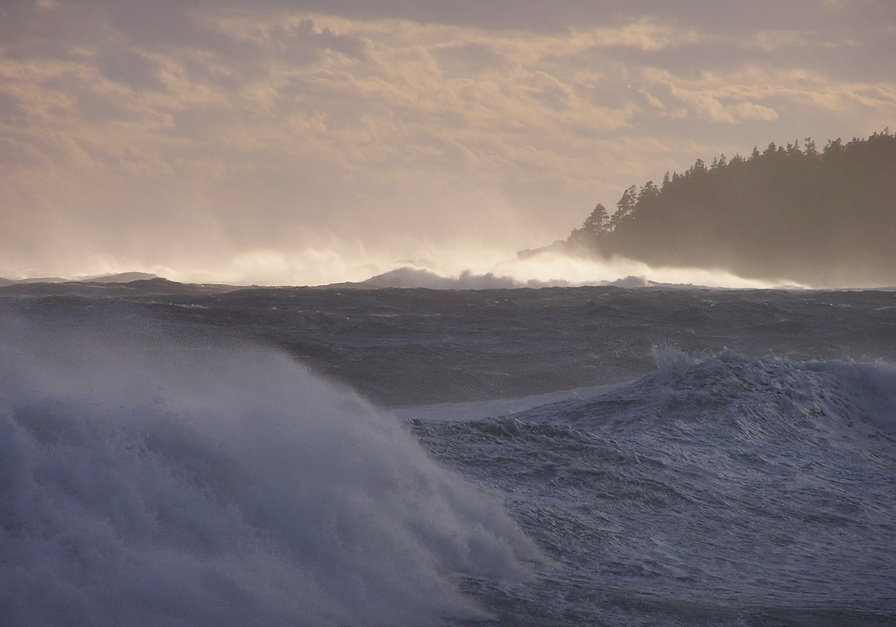 Storm waves on the south shore of my island (I took this photos after a passing tropical storm like 10 yearsago)