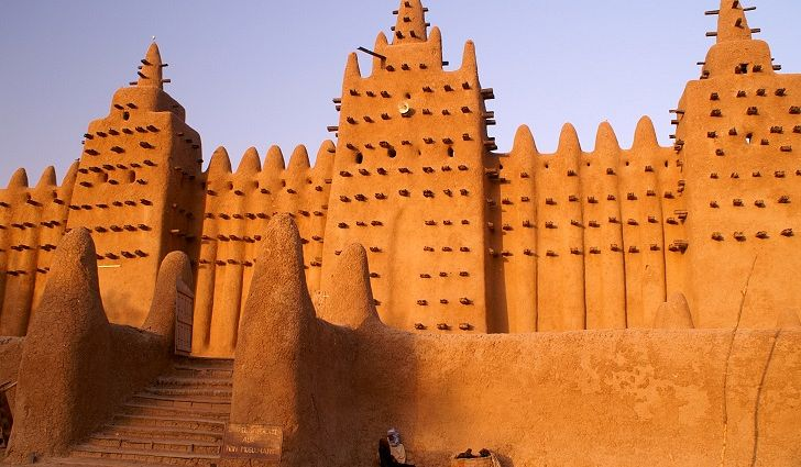 Mosque in Timbuktu, Mali