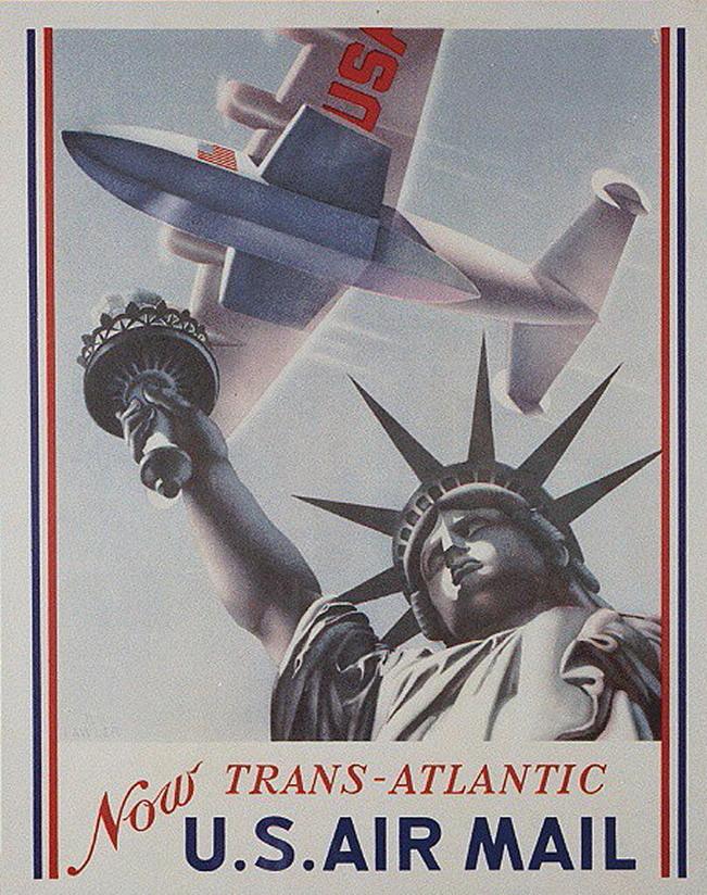 US Air Mail, circa1940