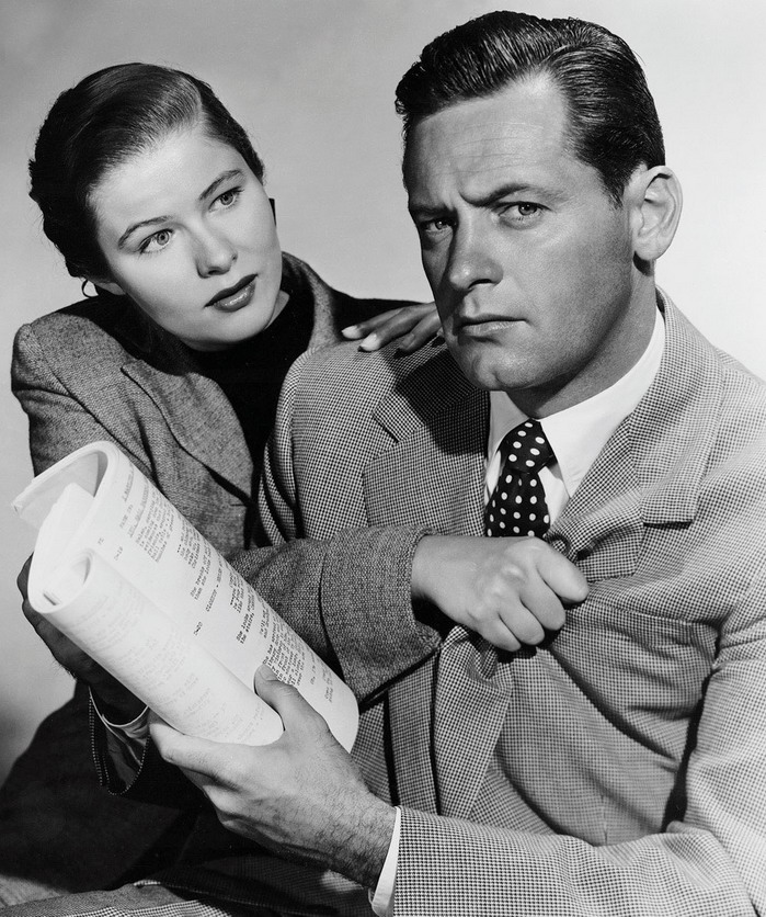 Nancy Olson and William Holden
