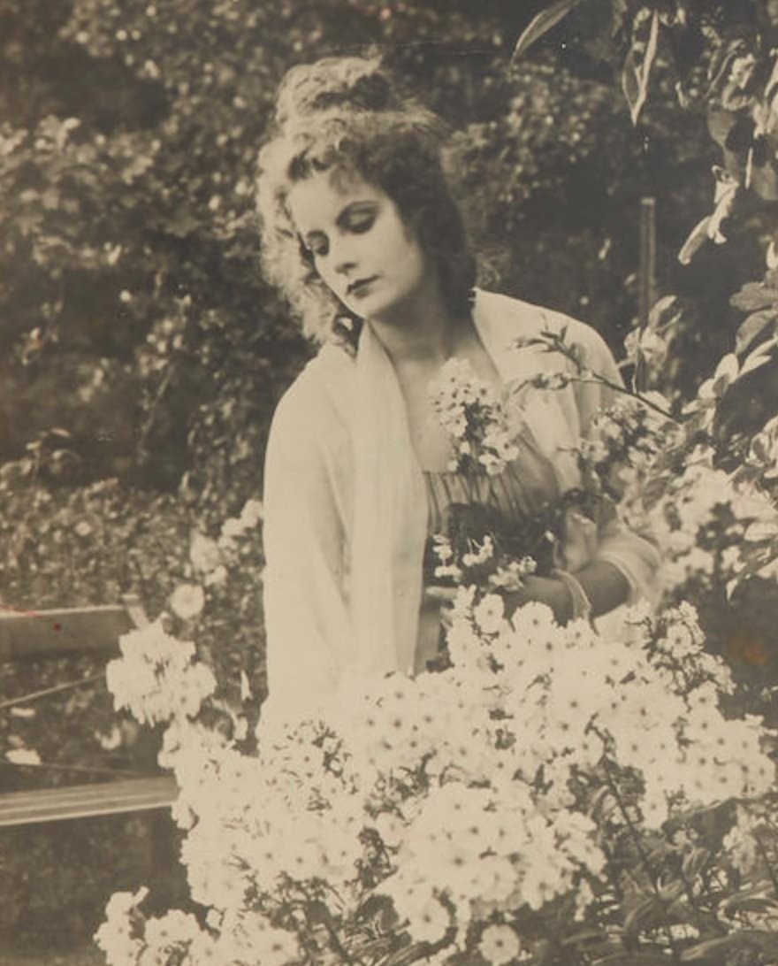 """Greta Garbo in """"The Saga of Gosta Berling"""",1924"""