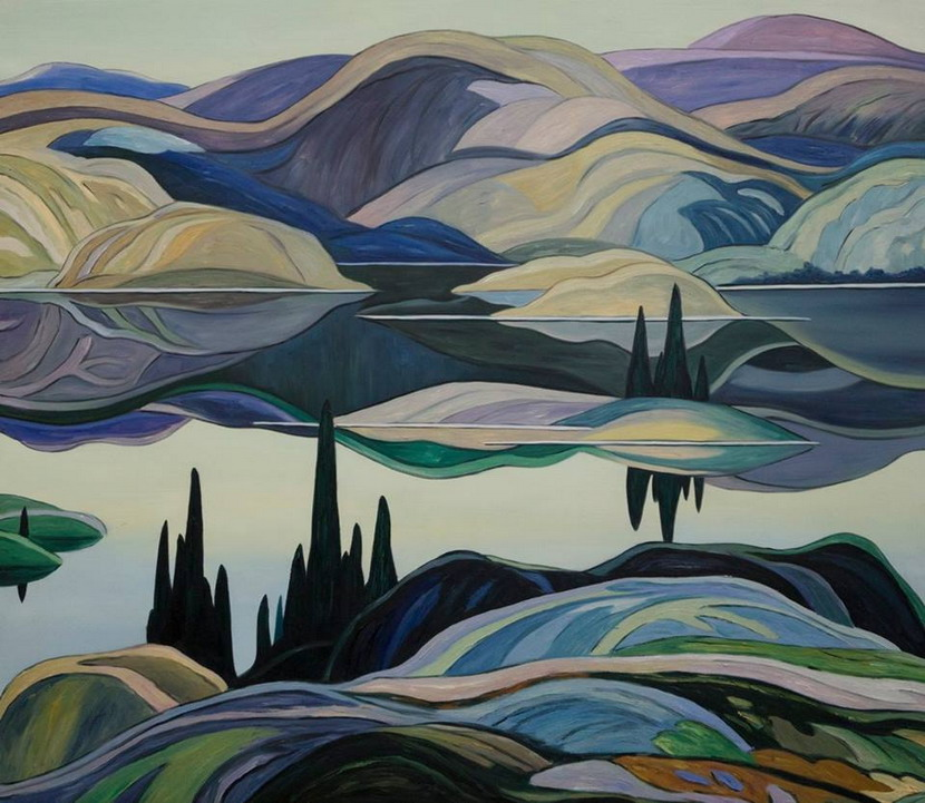 Painting by Franklin Carmichael, Canada