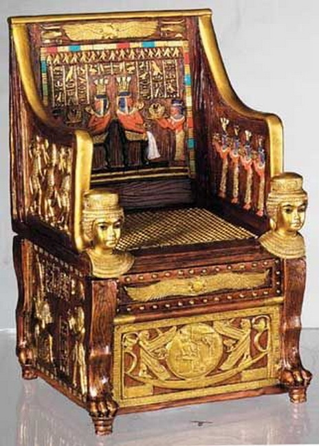 ancient egytian thrones 4