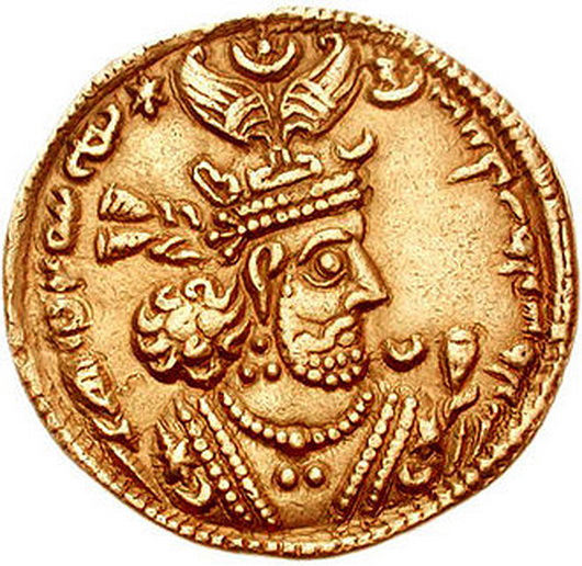 ANCIENT GOLD COIN 43