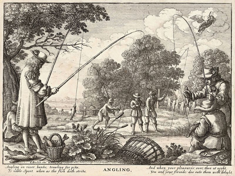 From an old English book about fishing