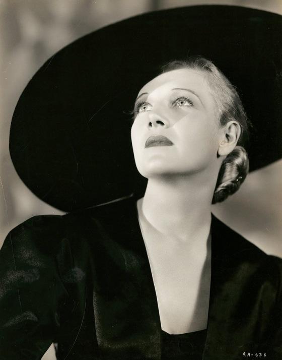 Ann Harding photo by Ernest A. Bachrach for RKO, 1930s