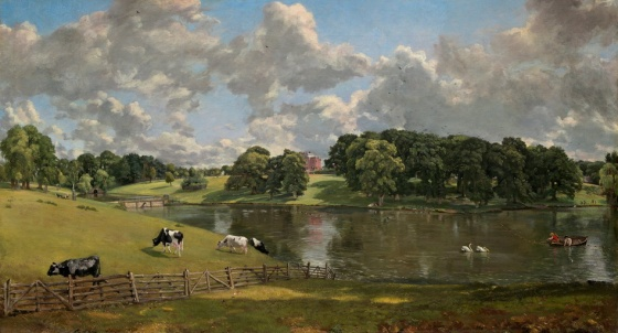 "Constable's painting, ""Wivenhoe Park, Essex"" (1816) 1"