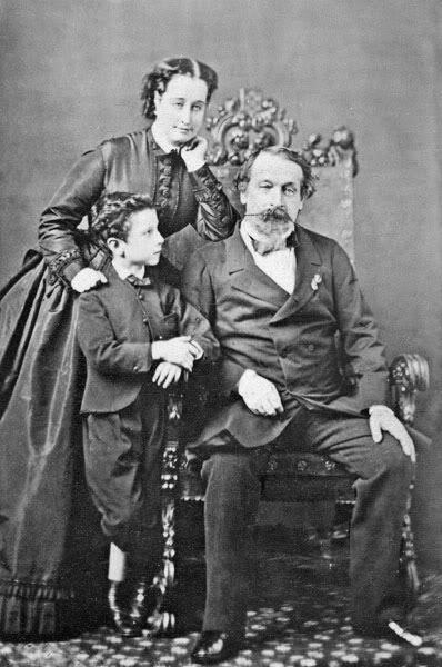 L'empereur Napoléon III et l'Impératrice Eugénie, France,1800s