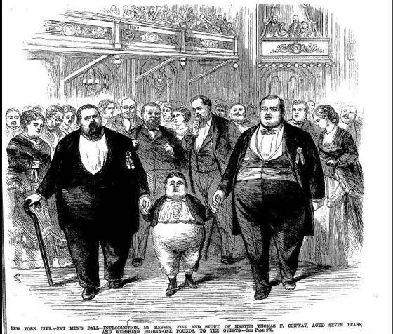 fat men's ball NYC