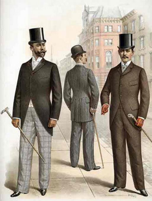 Gentlemen's outer wear,1901