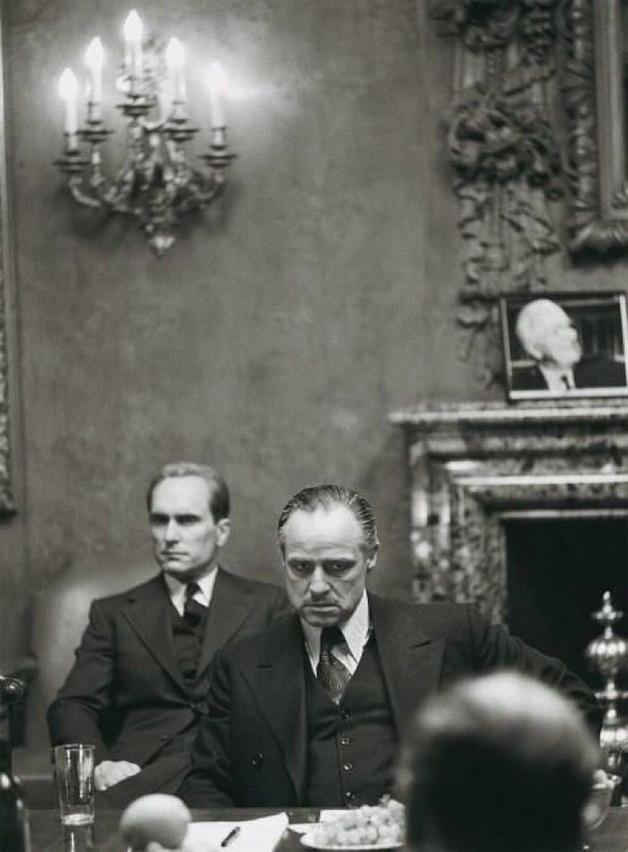 "Marlon Brando in ""The Godfather"", 1972"