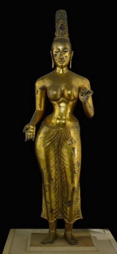 Bronze Statue of Bodhisattva Tara, SriLanka