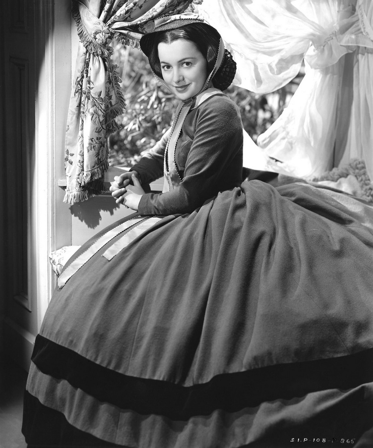 "Olivia DeHaviland in ""Gone With the Wind"""