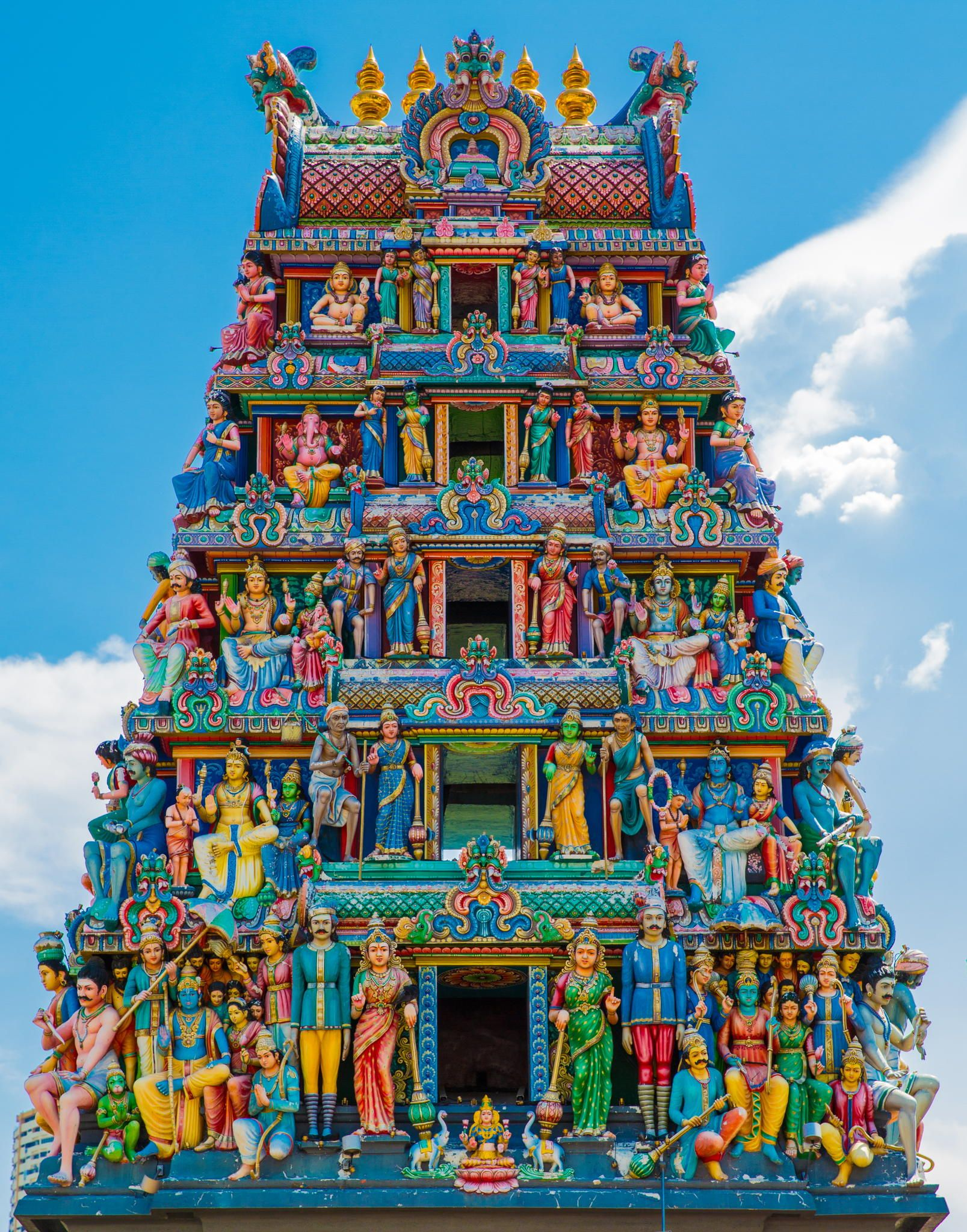 The oldest Hindu temple in Singapore