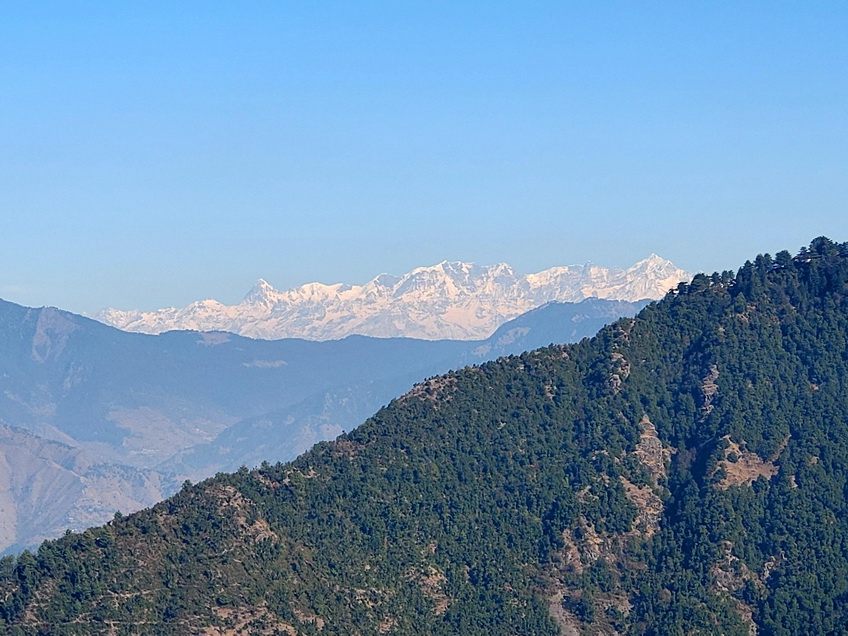 Up in the Himalayas,India