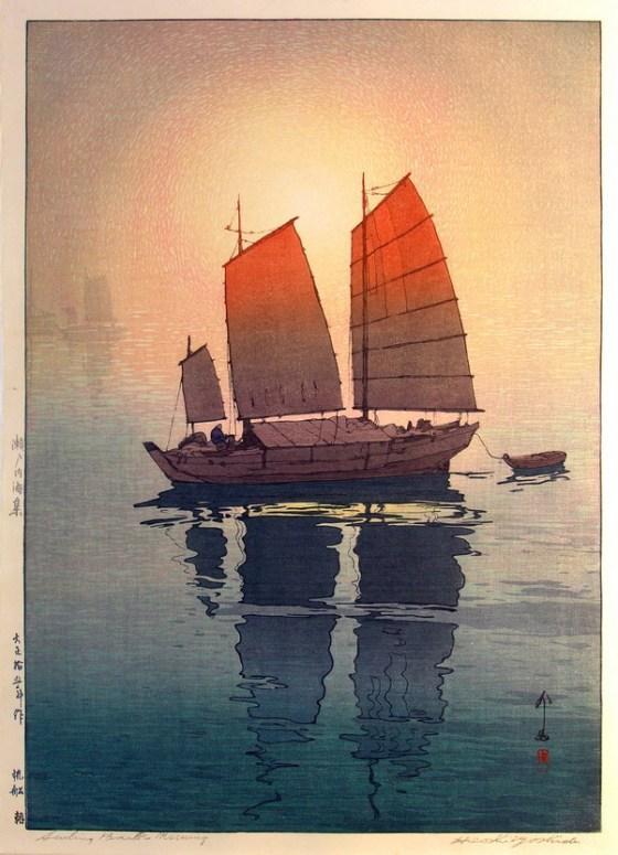 JAPANESE ART BOAT 435