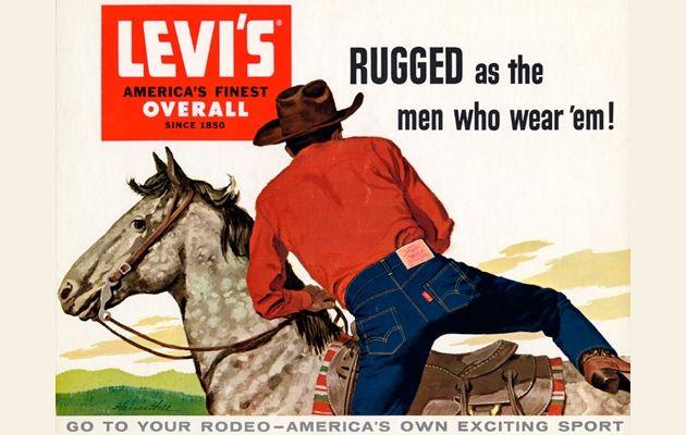 Levi's ad, 1950s