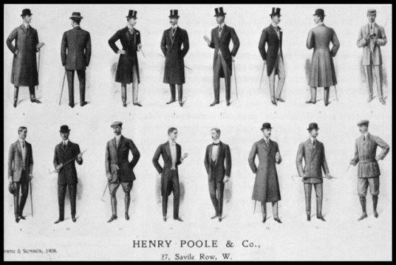 men's fashions savile row