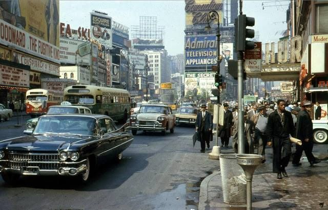 NYC, late 1950s