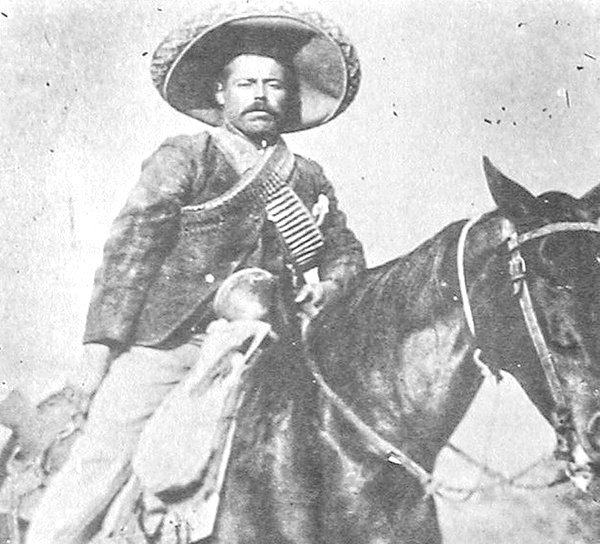 Mexican Revolutionary leader Pancho Villa, 1910s