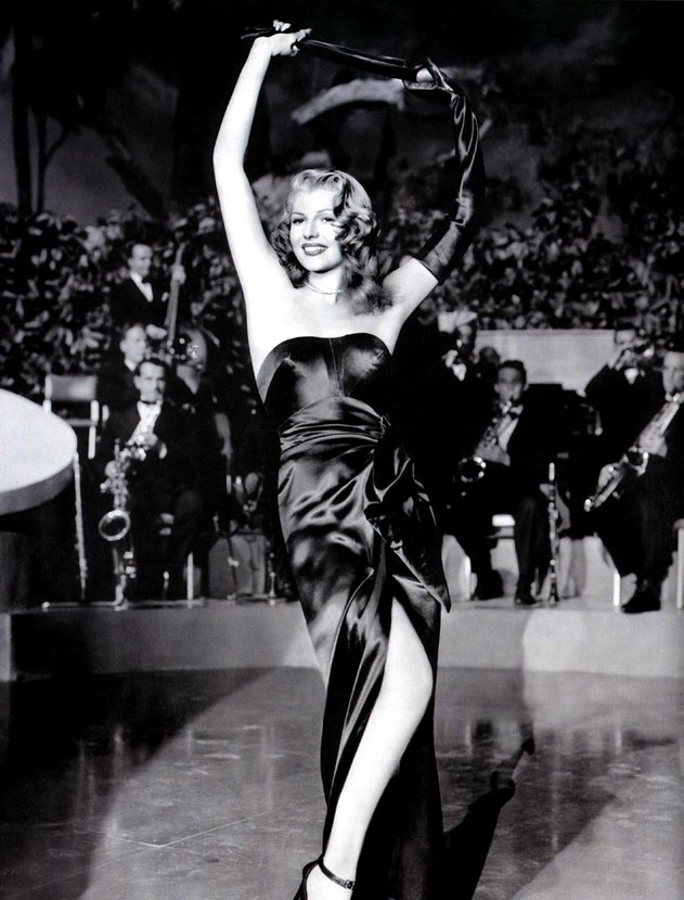 Rita Hayworth as Gilda – Put the blame on Mame, boys!