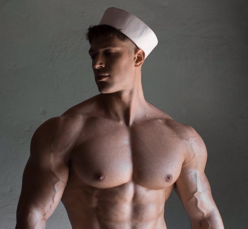 Shirtless Sailor