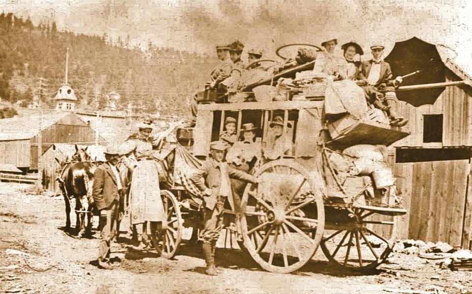 Stagecoach, South Dakota,1800s
