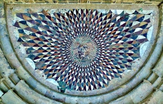 turkish mosaic medusa