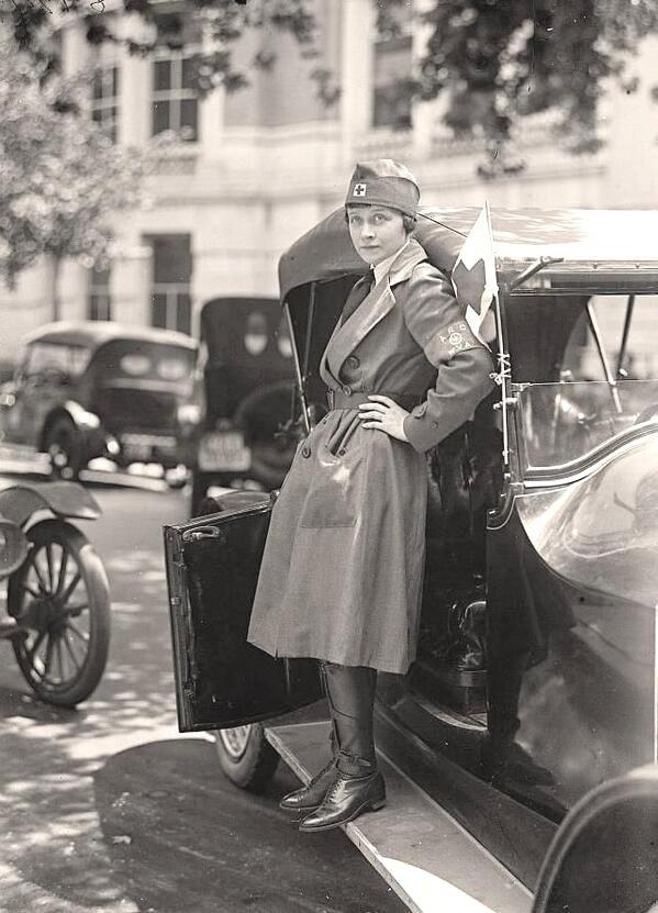 Nurse, WWI era