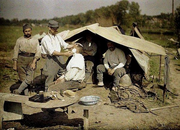 Soldats francaises, vers1916