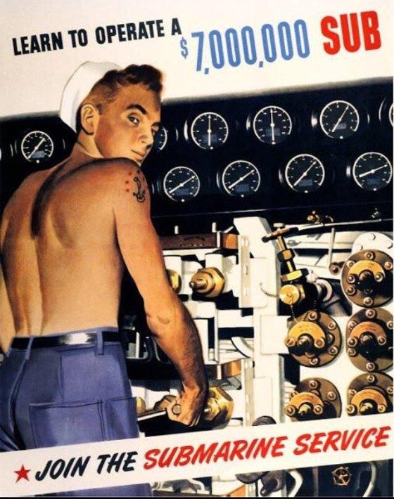 WWII SUB SERVICE
