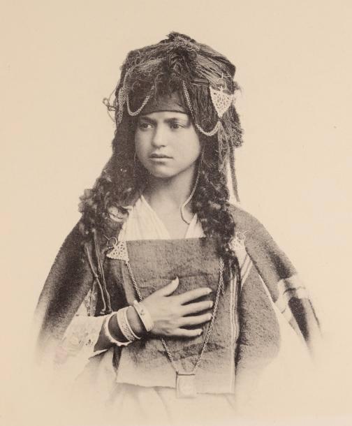 Une femme algèrienne,1800s