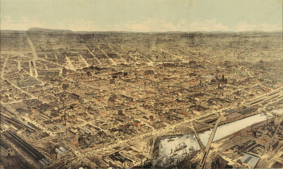 Melbourne, Australia, 1800s