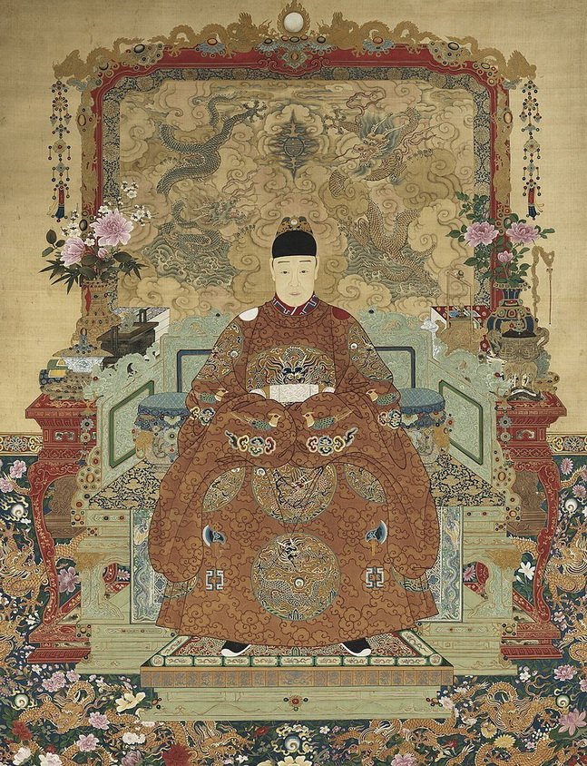 The Tianqi Emperor, Ming Dynasty, China,1600s