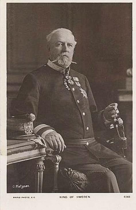King of Sweden (circa1910?)