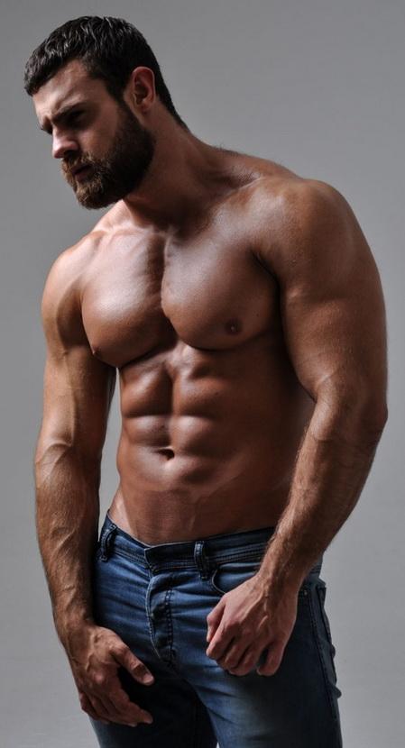 Russian model Konstantin