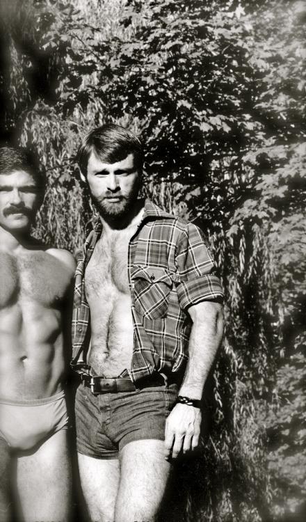 Men together, circa1980