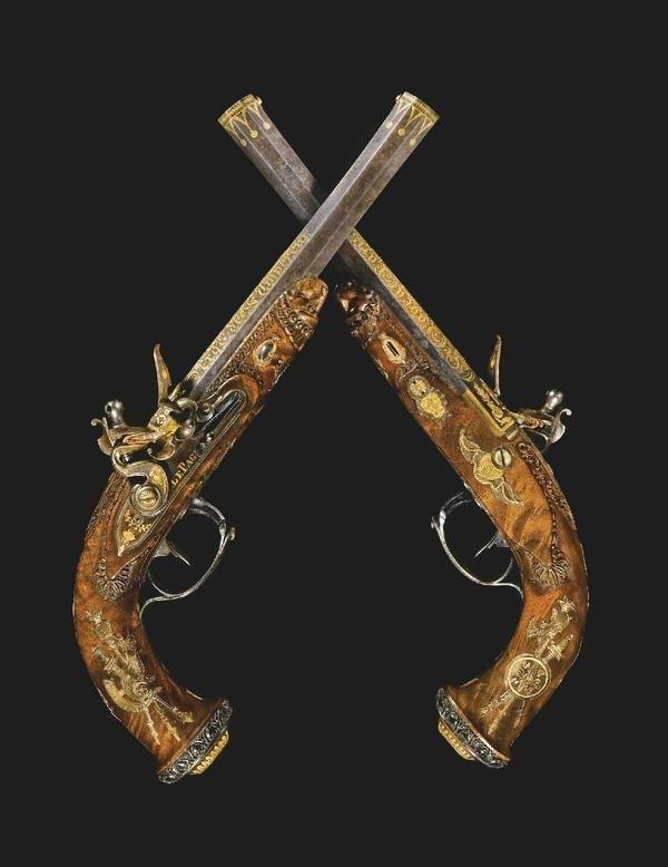 Pistols Napoleon gave to his son,1800s