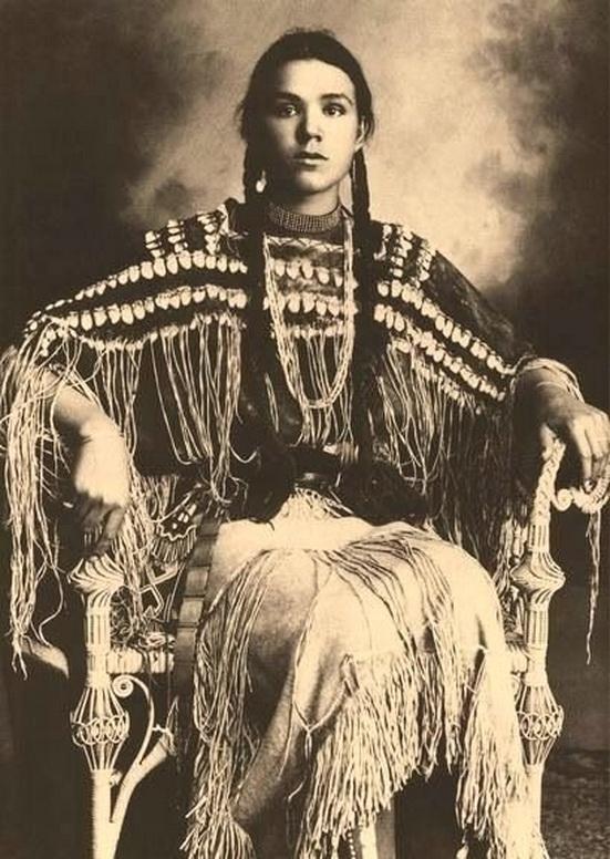 Native American Woman, Cherokee Nation,1800s