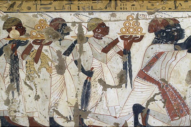 Nubians in ancient Egyptian art