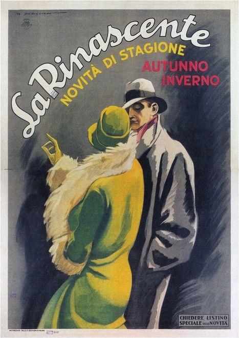 Italian fashions, 1930s