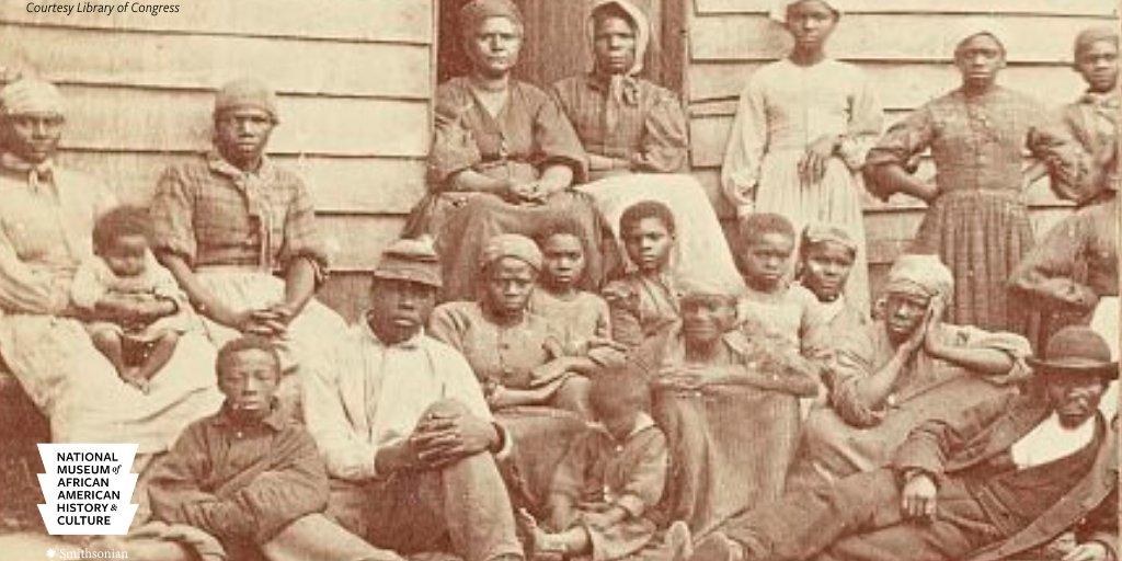 Slaves, US, 1860s