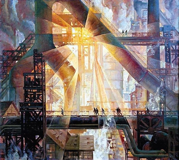 """Symphony of the 6th Blast Furnace"" by Evgeny Sedukhin, USSR, 1979"