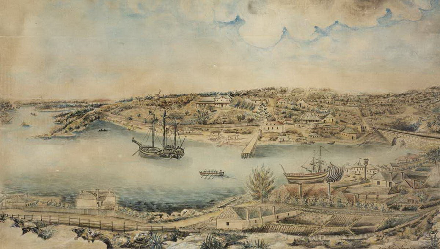 Sydney, Australia, 1791