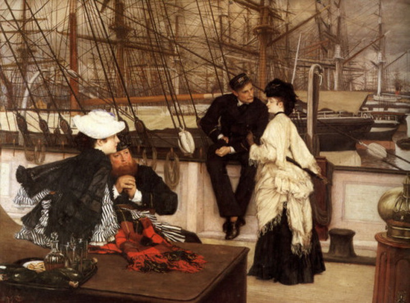 """The Captain and the Mate"" by James Tissot, 1873"