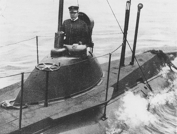 American submarine, 1902