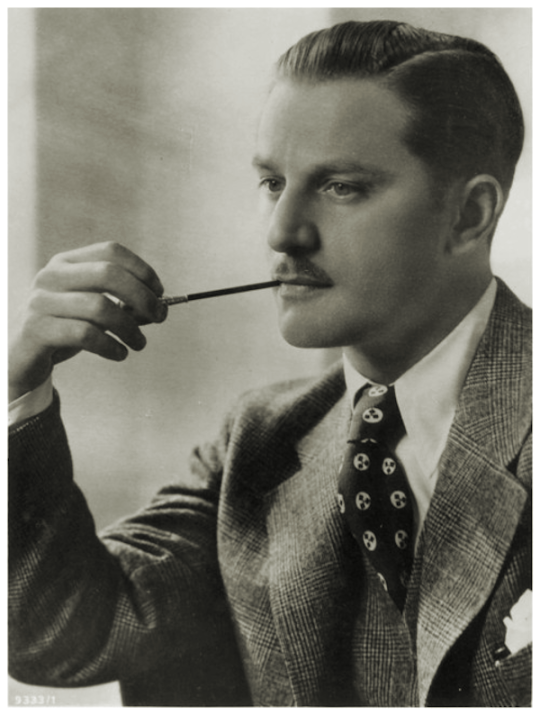 German-British actor Anton Wohlbruck, 1930s