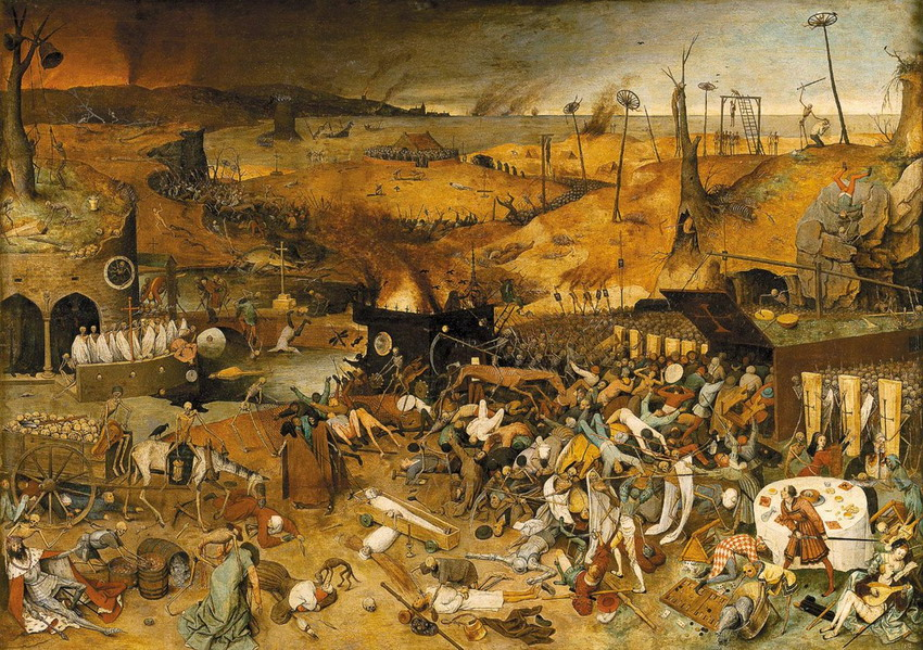 """The Triumph of Death"" by Pieter Brueghel the Elder, 1562"