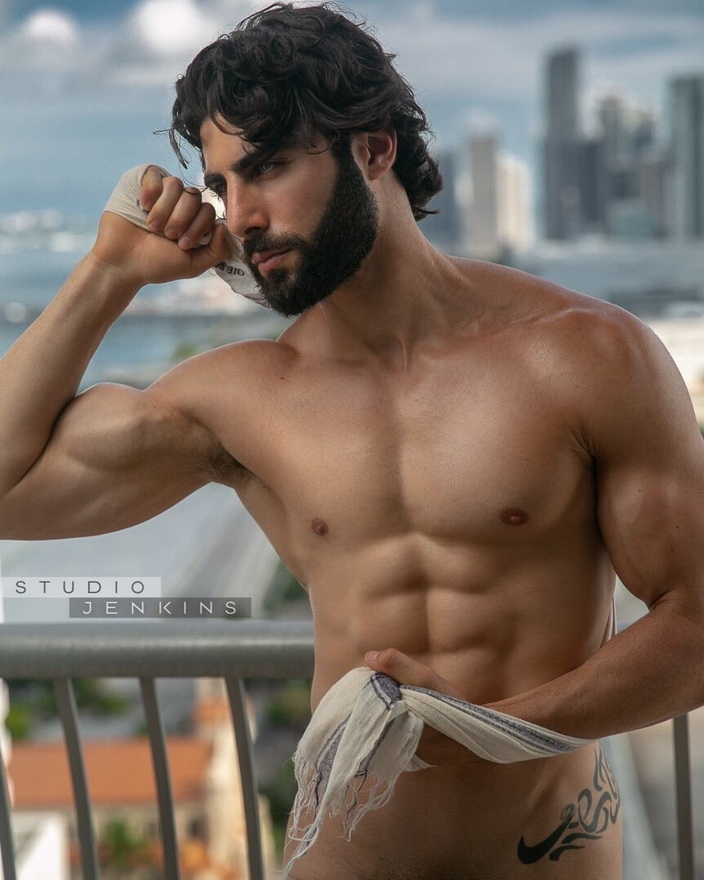 Lebanese-Canadian model Assad-Shalhoub