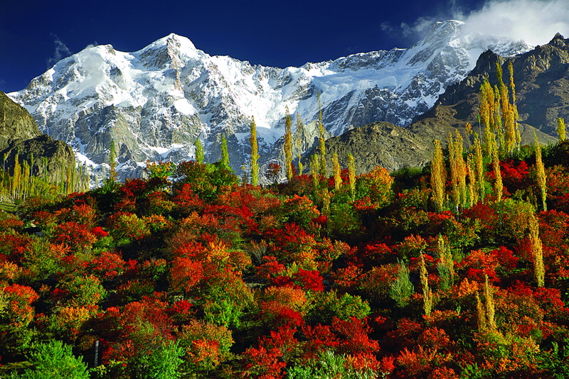 Autumn in the Baltistan region of Pakistan